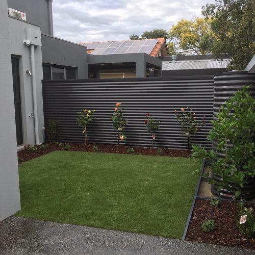 Landscape construction in Glen Iris